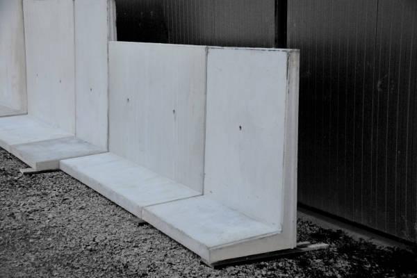 b ton berthozat mur de silo de type l. Black Bedroom Furniture Sets. Home Design Ideas